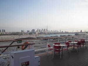A view from a deck in Dubai