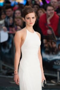 Emma Watson, British actress/model