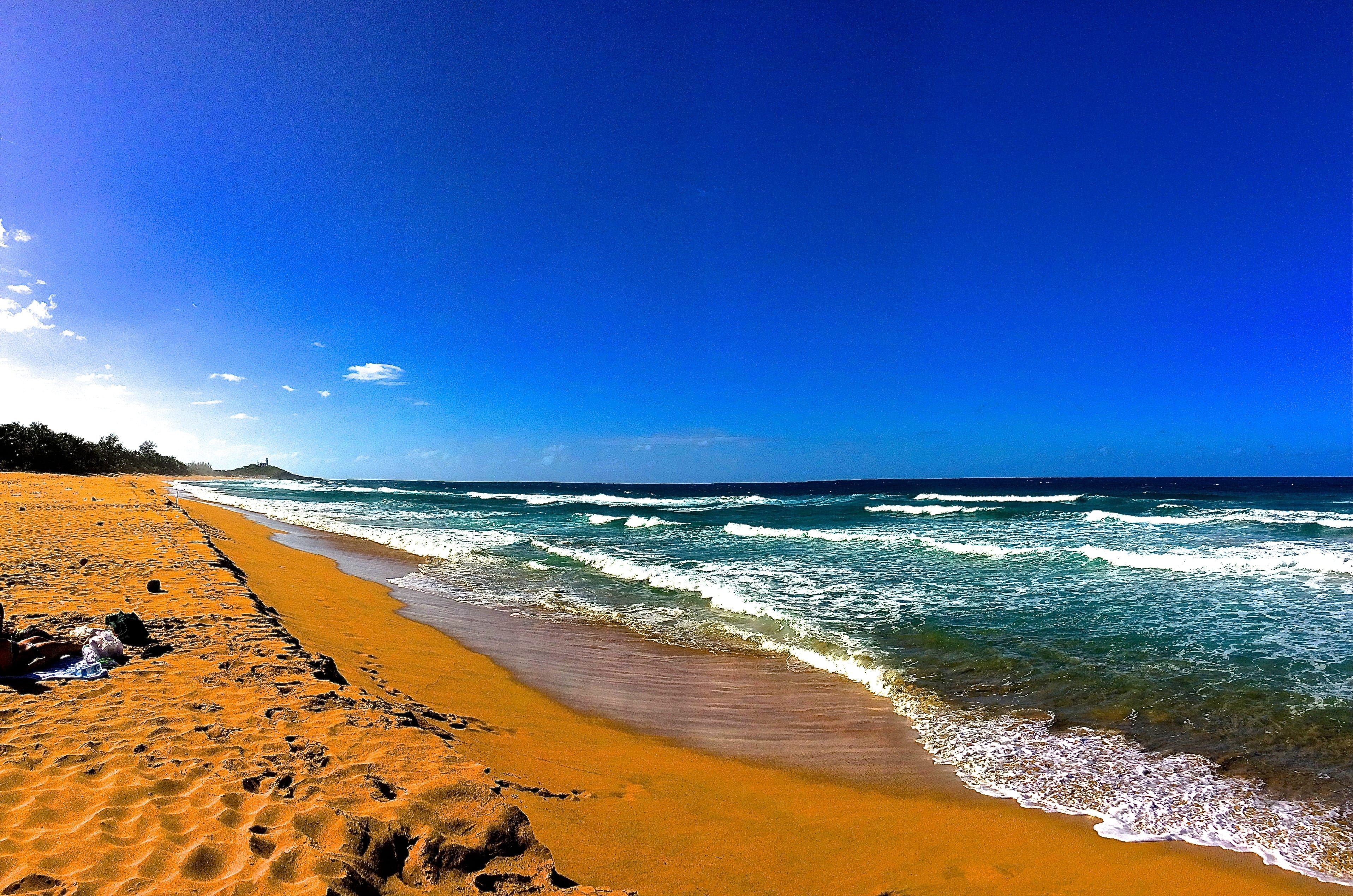 Photo of the beach we visited at Arecibo