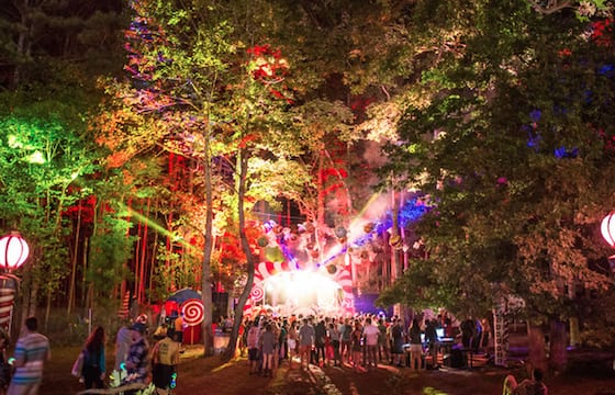 One stage at TomorrowWorld 2014