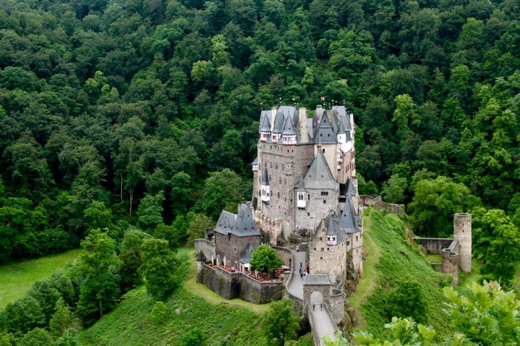 Located near the Moselle River in Germany, Burg Eltz is a Medieval castle that is full of 850 years of history.