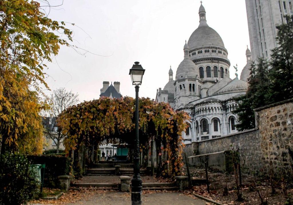 Basilique de Sacré-Cœur is located a top Montmartre in the 18th arrondissement in Paris. Photo take by Josie Lucero.