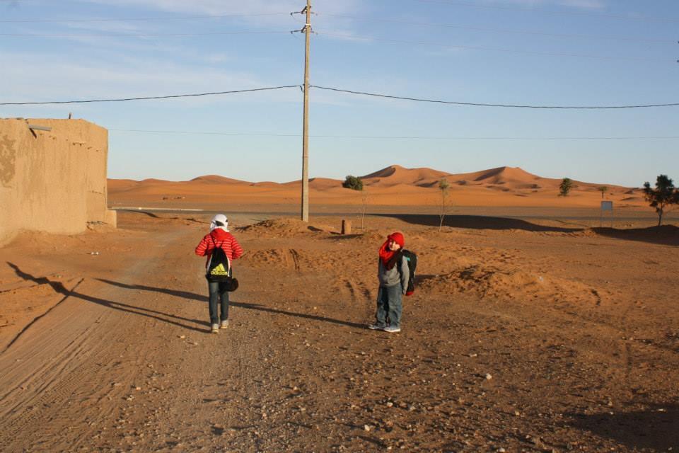 life desert essay