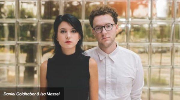 Photo of CAM Screenwriter Isa Mazzei and Director Daniel Goldhaber.