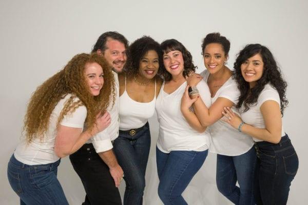Six multi-ethinic hair models.